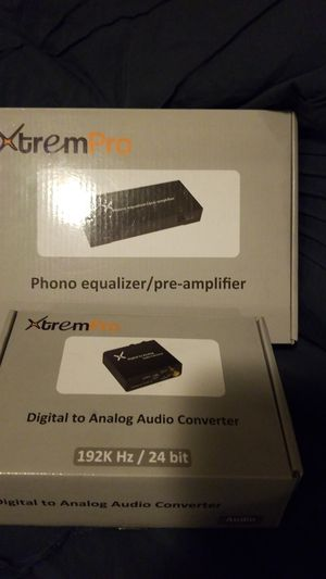 Xtrem pro phono equalizer pre amplifier and digital analog audio converter for Sale in Rosamond, CA