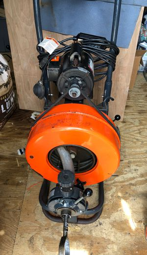 Sewer pipe drain clean Machine General speedrooter for Sale in Rockville, MD