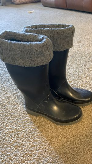 Aqua Stop rain boots in size 7 W for Sale in Temecula, CA
