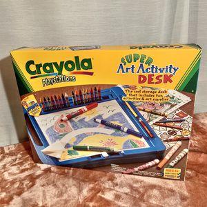 Vintage Crayola Playstation Super Art Activity Desk for Sale in Vallejo, CA