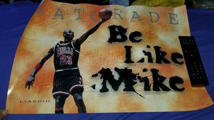 1998 QUAKER OATS SMALL JORDAN POSTER for Sale in Whittier, CA
