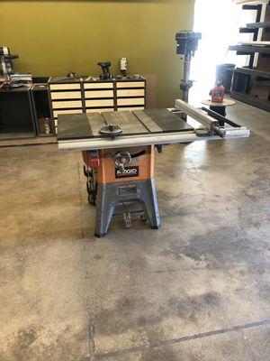 Ridgid Table Saw for Sale in Phoenix, AZ