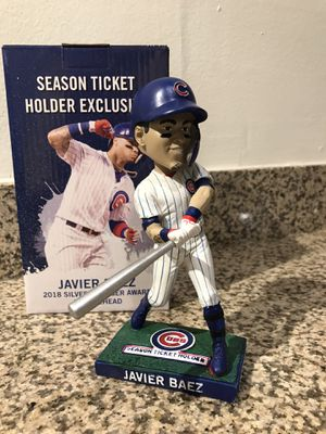 Javy Báez Cubs Silver Slugger Bobblehead for Sale in Winfield, IL