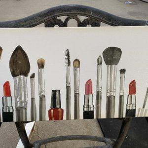Brush Portrait (vanity) for Sale in Whittier, CA