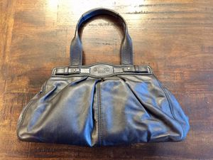 Coach bag purse satchel black for Sale in Bothell, WA