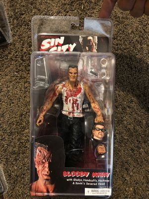 SIN CITY NECA 2005 Series1 BLOODY MARV COLOR VARIANT FRANK MILLER SDCC EXCLUSIVE for Sale in Fresno, CA