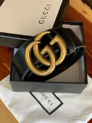 Amazing Gucci Belt Marmont Black Leather for Sale in Madison Heights, VA