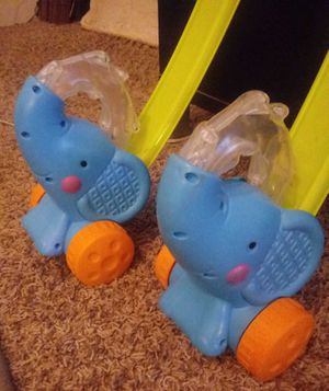 Fisher price Pop and Push Elephants for Sale in Bloomington, IL