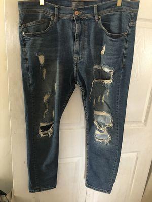 36w Zara man denim jeans for Sale in Washington, DC