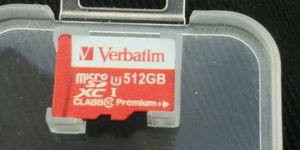 512 gb SD mini for Sale in Jacksonville, FL