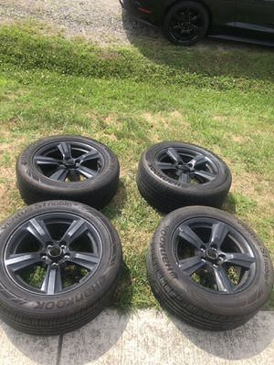 2018 Mustang rim and tires 17 inch for Sale in Fairfax, VA