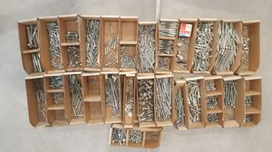 Misc bolts and hardware for Sale in Wellington, CO