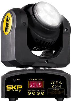 SKP PRO LIGHT LEDX 2B DUAL Professional Two-Side Beam Moving Head Light RGBW LEDs lamp Multi-Color. Nuevas en caja for Sale in Miami,  FL