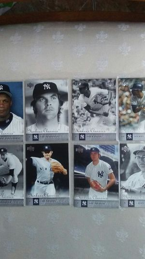 Old School New York Yankees Baseball Players Cards for Sale in Haines City, FL