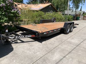 Tilt Trailer. 2weeks old. 14k trailer. Bought it and then sold the mini x I was using. $7,000 new. I'm selling for $6000 for Sale in Tigard, OR