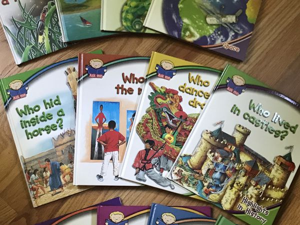 Ask Me book series by southwestern