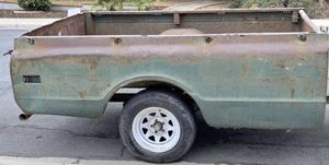 1968 Chevy truck long bed PARTS! The first few pictures are of bed before I cut it apart. AS IS BED PARTS!! Make offer the worst thing is I say no to for Sale in San Diego, CA