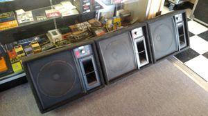 3 Fender Monitors Model 1272A for Sale in Scottsdale, AZ