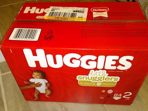 Huggies little snugglers (size 2) for Sale in Austin, TX