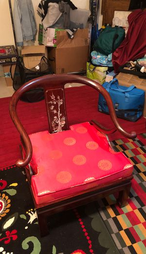 Antique Japanese Chair 2 set for Sale in Annandale, VA