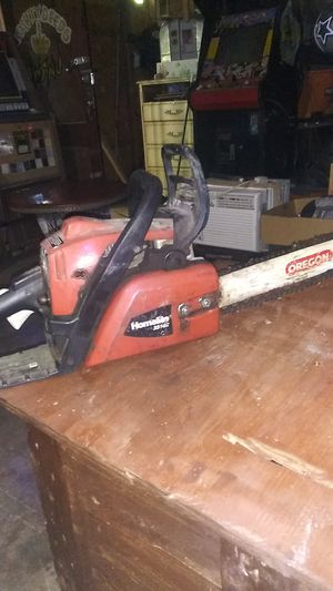 Homelite gas chainsaw for Sale in San Antonio, TX
