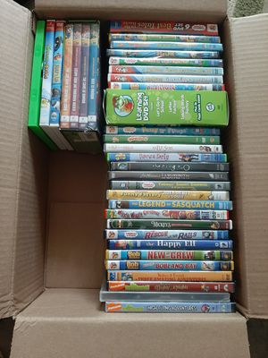 Lot of ~40 Kids DVD's Lots of Thomas, Bob the Builder, Wiggles, and More! for Sale in Blue Bell, PA