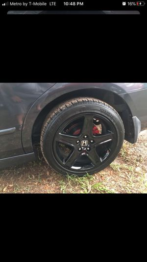 Acura TL rims for trade for OEM HONDA RIMS or sell for Sale in Largo, FL