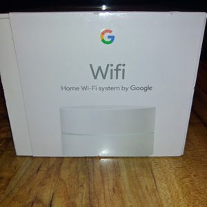 Google Home Wifi System Router New In Box for Sale in Kingsport, TN