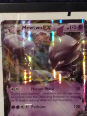 Pokemon mega card mewtwo rx for Sale in Portland, OR