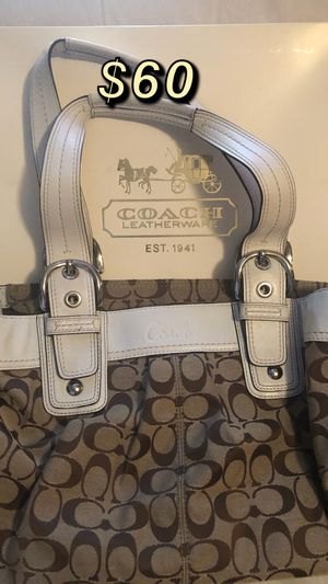 Authentic Large Coach Bag for Sale in Auburn, WA