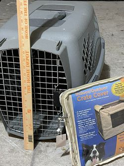 """Pet Crate 26"""" w/ FREE Cover for Sale in Katy,  TX"""