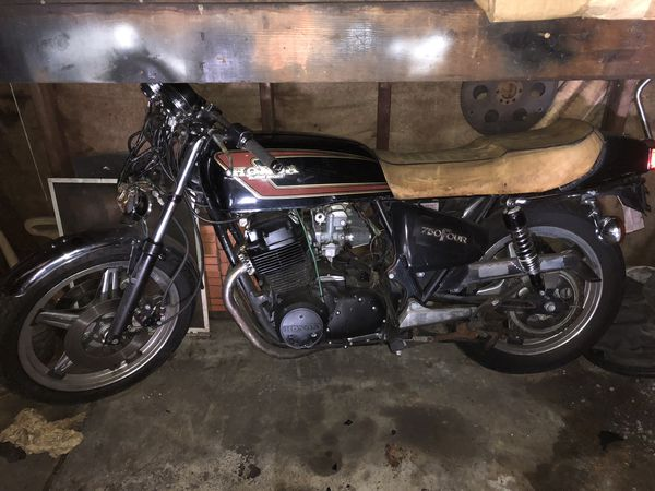 1977 Honda super sport motorcycle (read description)
