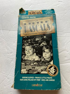 Little Rascals vintage vcr tape movie firm for Sale in Broadview Heights, OH
