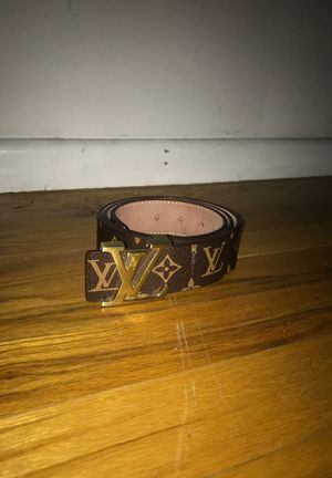 Louis Vuitton belt for Sale in Westminster, CO