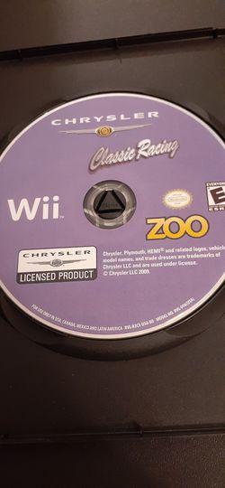 CHRYSLER Classic Racing (Nintendo Wii + Wii U) for Sale in Lewisville,  TX