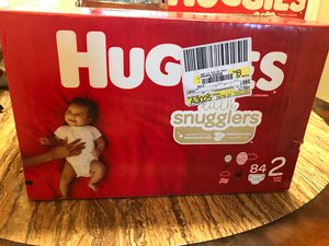 Diapers 2 box $45 for Sale in San Diego, CA