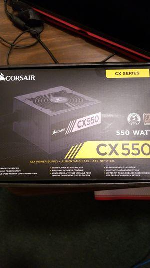 Corsair 550 Watt Power Supply for Sale in Mercedes, TX