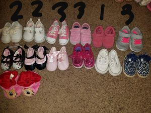 Infant shoes sizes 1,2&3 ( 3mo-6/9mo) for Sale in Glen Burnie, MD