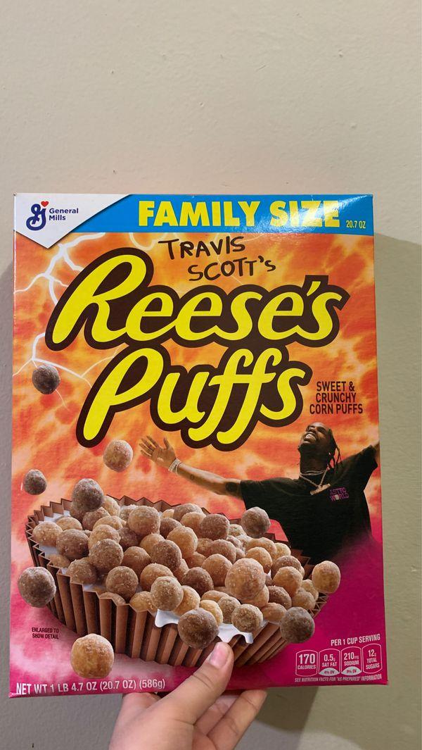 Travis scott's Reese's puffs