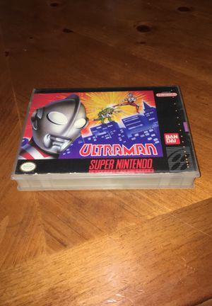 Ultraman Cut Box - Super Nintendo for Sale in Maywood, CA