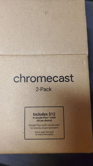 Chromecast for Sale in San Clemente, CA