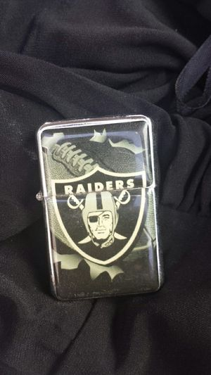 Raiders zippo lighter $5.00 for Sale in Banning, CA