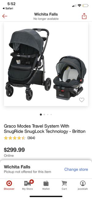Graco Modes 3-IN-1 Travel System for Sale in Wichita Falls, TX