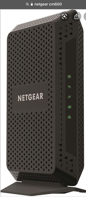 Netgear Cm600 modem for Sale in Trout Valley, IL