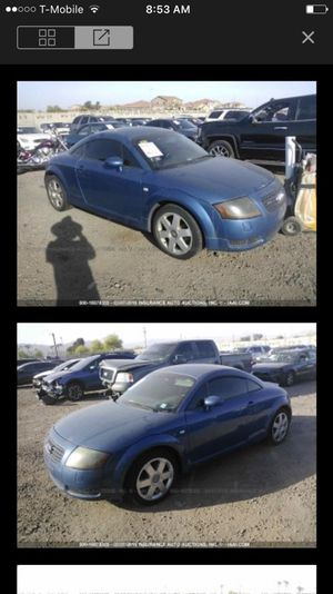 2001 Audi TT parting out!!! Parts only for Sale in Phoenix, AZ
