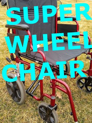"NEW NOVA BARIATRIC WHEEL CHAIR — 22"" EXTRA WIDE 400LB MAX for Sale in Wheaton, IL"