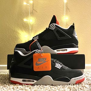 "Nike Air Jordan 4 Retro OG ""Bred"" 2019 Size 10.5, Style Code 308497060 for Sale in Norman, OK"