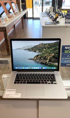 "15"" MacBook Pro retina- 2.3Ghz Intel Quad Core i7-256GB SSD- 16GB RAM for Sale in Los Angeles, CA"