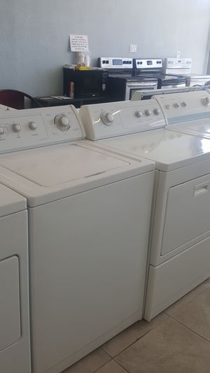Whirloiil commercial quality washer and electric dryer for Sale in Modesto, CA