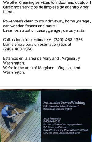 POWER WASHING / CLEANING for Sale in Adelphi, MD